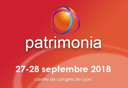 Patricom vous accueille au Salon Patrimonia 2018